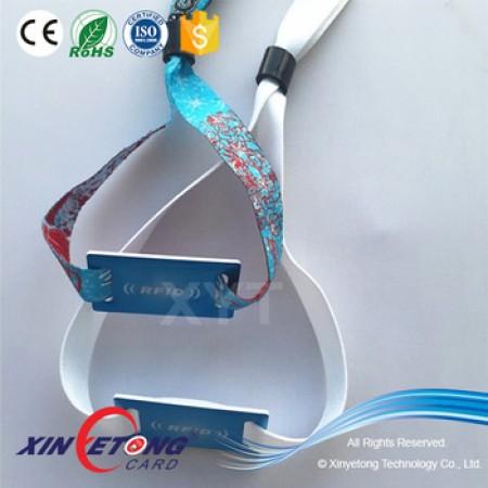 25*40mm head tag RFID Ultralight Bracelets for event