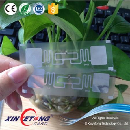 860-960Mhz UHF RFID PET Inlay
