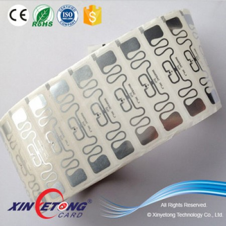 ISO 18000-6C RFID Wet Inlay with Alien H3 chip