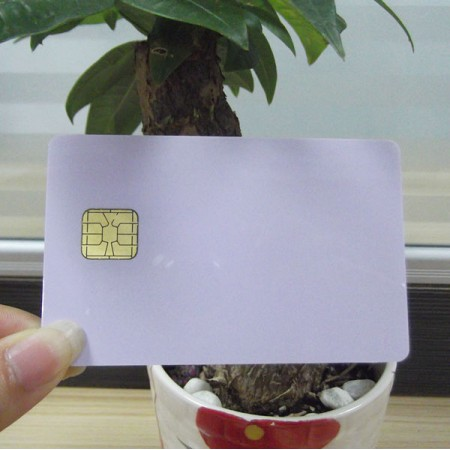 2016 high quality plastic pvc contact ic card