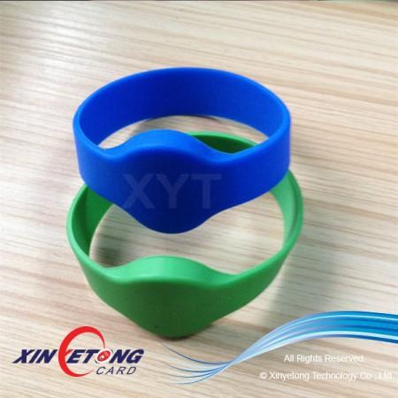 13.56MHZ Ntag203 NFC Silicone Wristband Blank