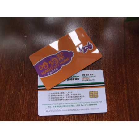 4 Color Printed Contact Type Smart Card