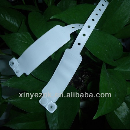 PVC RFID Medical Wristband