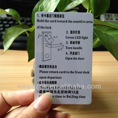 125KHZ ATA5577 363-Bit Access Control RFID Key Cards