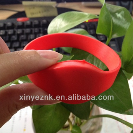 Red Color Ultralight C Chip NFC Wristband For Children