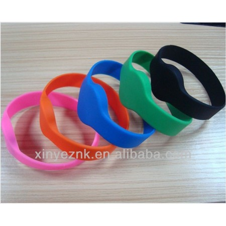 Colorfull NFC silicone wristband for club