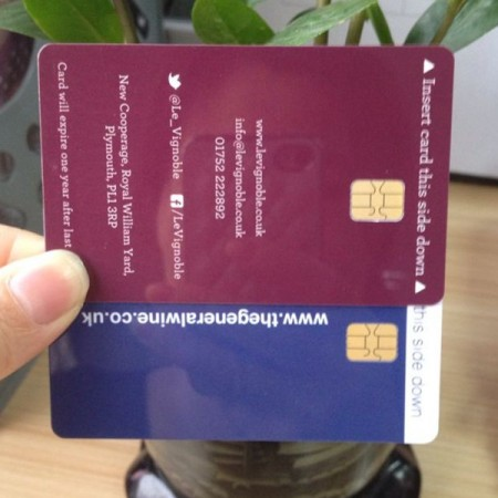 AT24C02 contact IC smart card