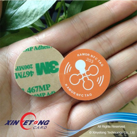 Nfc Coin wrist Tag for payment
