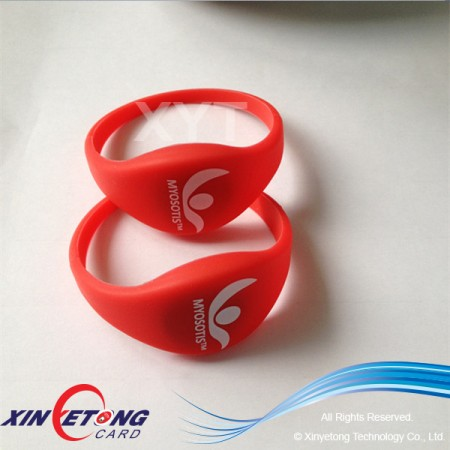13.56MHZ RFID Waterproof Wristband For Gym
