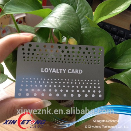 High Quality Standard Stainless Steel Metal Business Cards