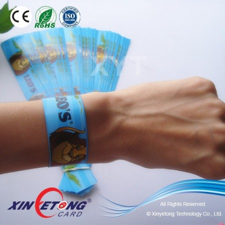 2016 One Time USE Paper Wristbands For Events