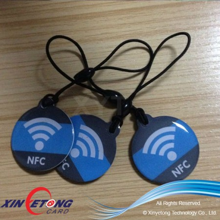 28x32mm Ultralight NFC Epoxy tag for Mobile Payment