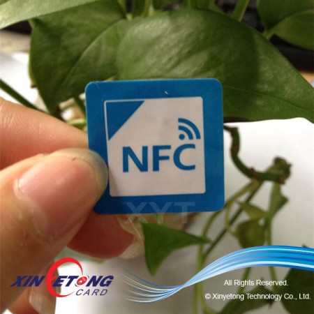Logo Printed Ntag203 NFC Sticker For Payment