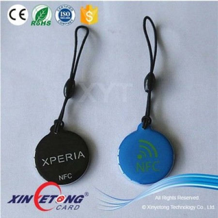 30*34mm Epoxy NFC Tag MF1k for Access Control