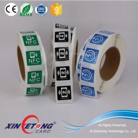 45*45mm NTAG213 1000pcs Volume Labels Custom retails Tags and Labels