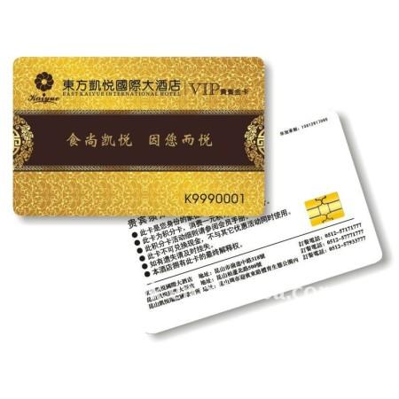 ATMEL 24CO1A Chip Membership Card