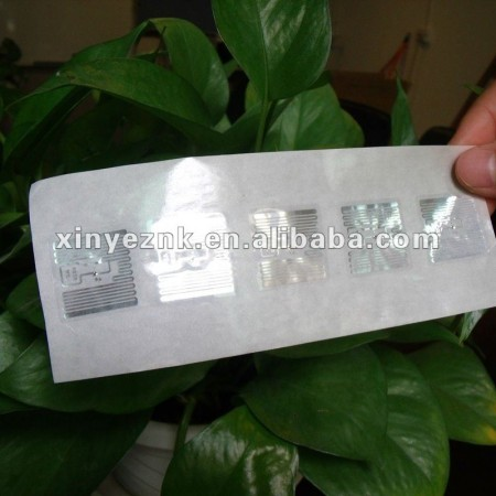 Long distance UHF library RFID label for books