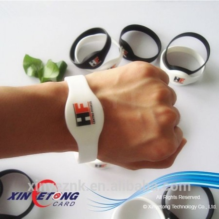 Cheapest 13.56MHZ Ultralight Rfid wristband For Concert