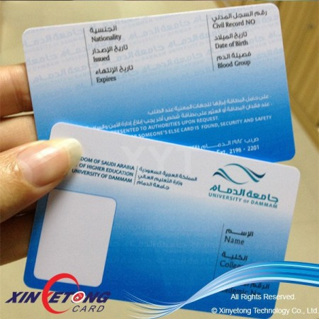 13.56MHZ DESFire EV1 4K (MF3ICD41) RFID Smart Card Printable