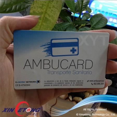 13.56MHZ DESFire EV1 2K (MF3ICD21) RFID Smart Card Printable