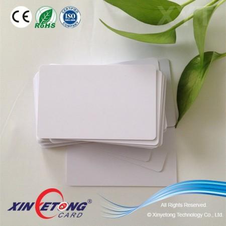 125KHZ EM4450 RFID Smart Card Blank For Thermal Printer