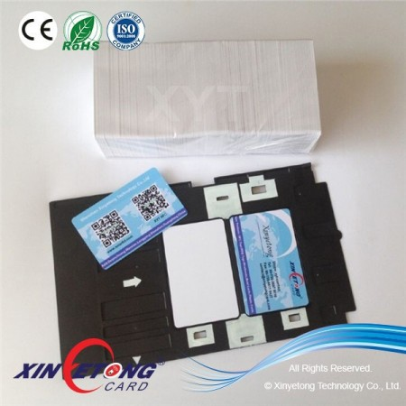 13.56MHZ MF 1K S50 Inkjet PVC IC Card For Access Control