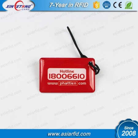 125KHz TK4100 Custom shape RFID Epoxy Tag