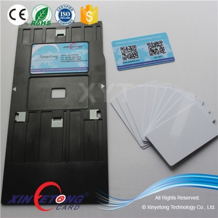 125KHZ TK4100 Inkjet Coating Card For Access Control