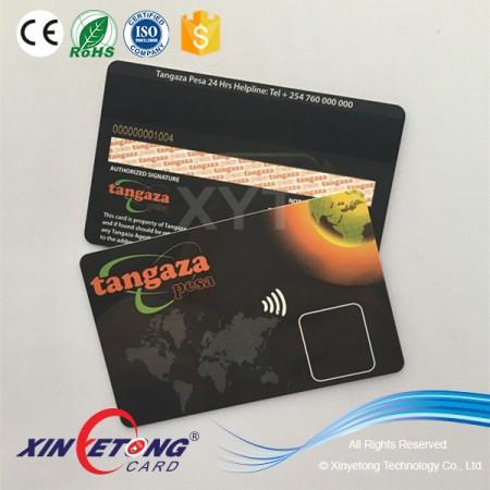 13.56MHZ RFID 3DES DESFire EV1 4K Smart Card ISO14443A