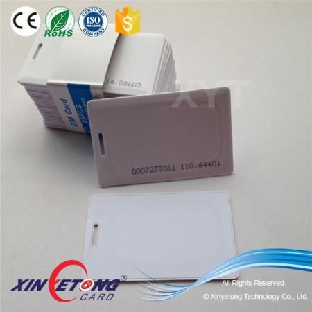 125KHZ TK4100/EM4200 Access control RFID Calmshell card Mango Card