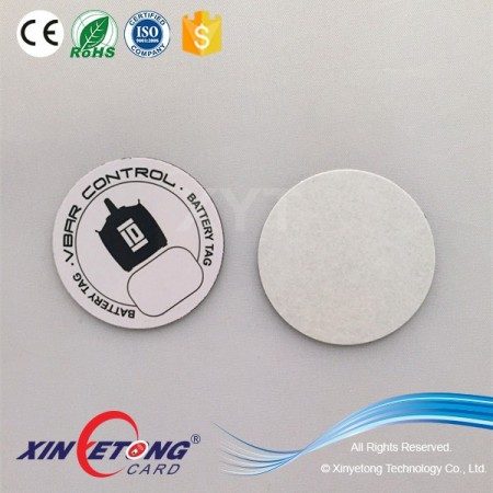 Programmable anti-metal NFC tag for access control