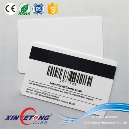 85.5x54mm Standard Size CMYK Printing PVC ID Card