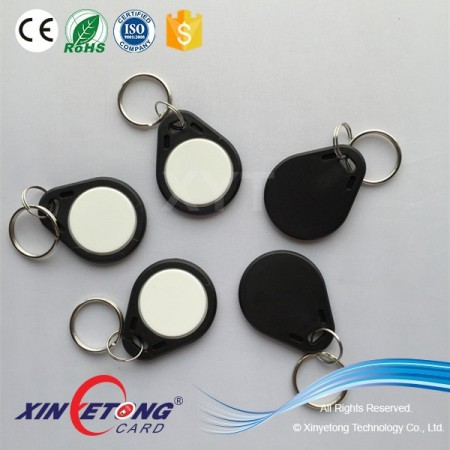 NFC ABS keychain for book store
