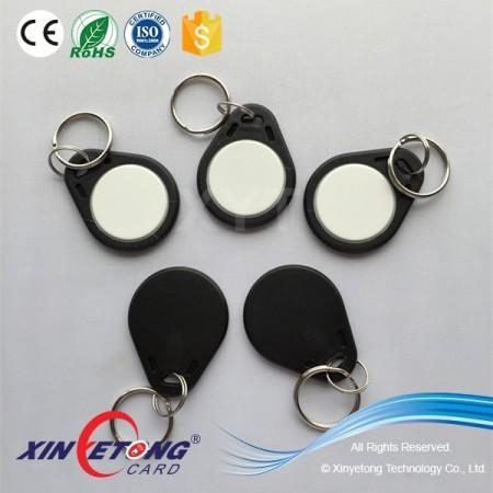 125KHZ R/W EM4450 Chip RFID Keyfob for Door Access Control