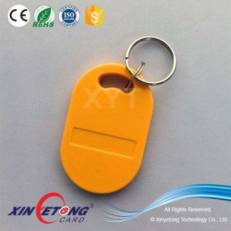 13.56MHZ ABS Classic 1K S50 RFID Key Fob WaterProof