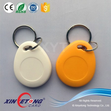 Colorful Custom RFID ABS keychain for library