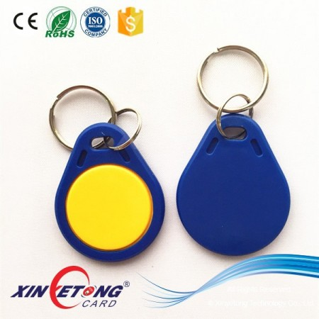 125KHZ R/W T5577 Chip RFID Keyfob for Door Access Control