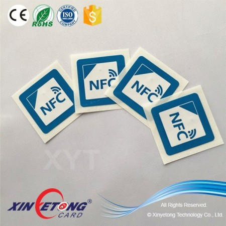 School access control NFC sticker with Ntag 213 chip