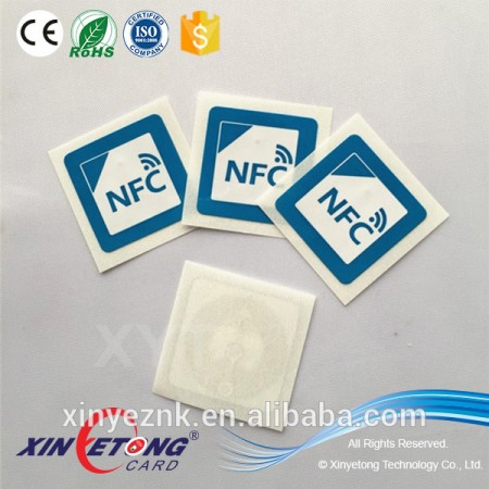 HF RFID/NFC tags for mobile payment in china