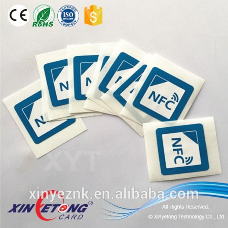 Technological HF chip 13.56khz RFID/NFC tags/sticker for Acess control Card