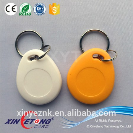 Customer required Ultralight chips ABS Material RFID Key Fobs/Tags