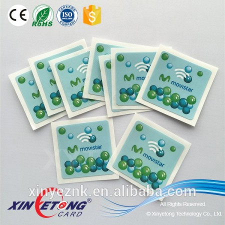 New Technological 13.56khz RFID/NFC tags/sticker for Acess control Cards