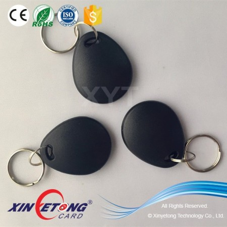 Logo Screen printing ABS NFC keytag with Ultrlight chip