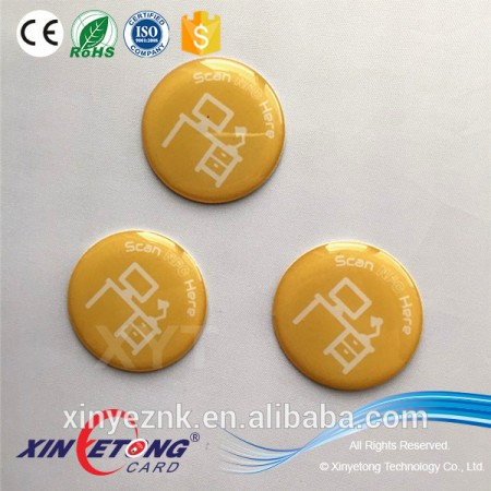 Waterproof Ntag213/216 NFC Epoxy Tag