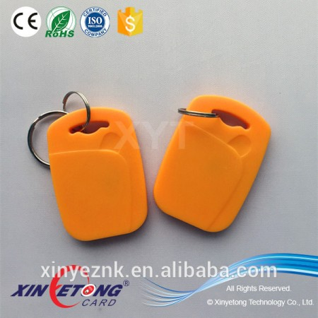 Customer required small Size ABS Material RFID Key Fobs/Tags for Door