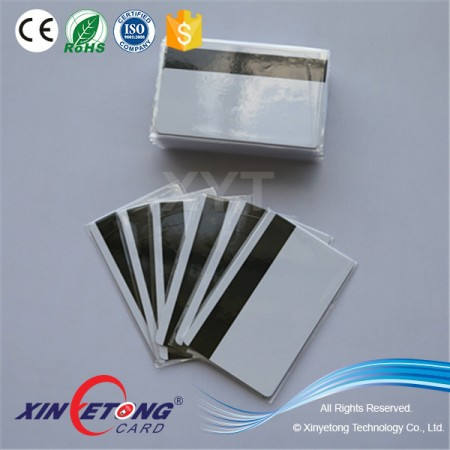 Best Price CR80 PVC HICO Blank Magnetic Card
