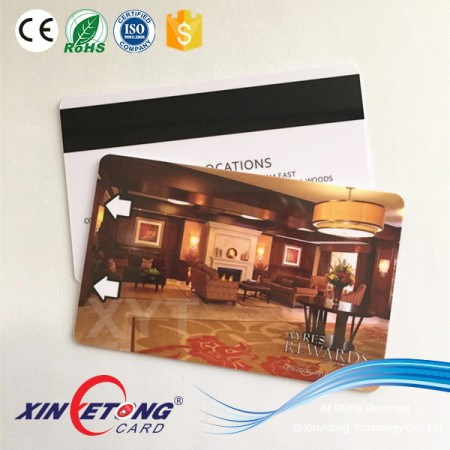 2016 CMYK PVC Gift Card with Magnetic Stripes