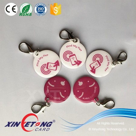 Compatible smart phone Payment Ultralight-C RFID/NFC Epoxy Tag/NFC E-ticketing
