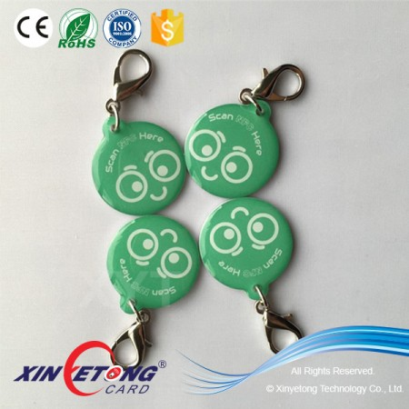 Customized Professional Ntag213 144byte NFC Epoxy Tag for Pet Tag
