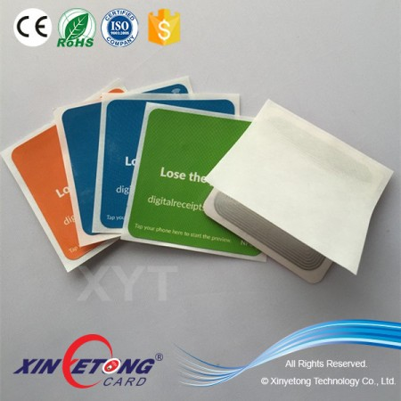 FM08 Chip NFC Tag/Sticker For Mobile Payment